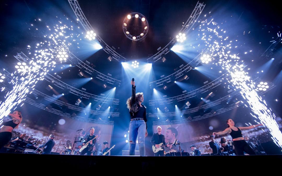Glennis Grace eert op fenomenale wijze Whitney Houston in AFAS Live.