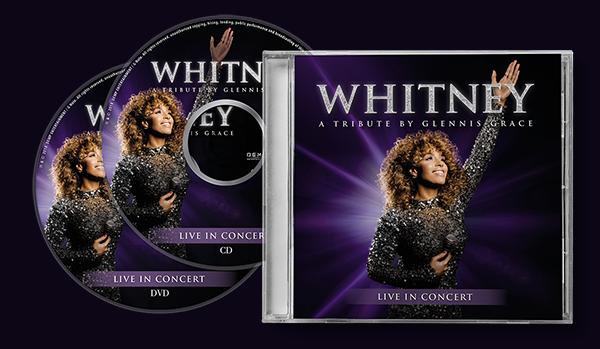 Whitney Tribute nu uit op cd en speciale cd/dvd combipack!