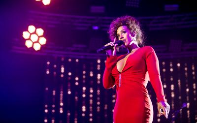 Glennis met Whitney Tribute naar Lotto Arena Antwerpen!