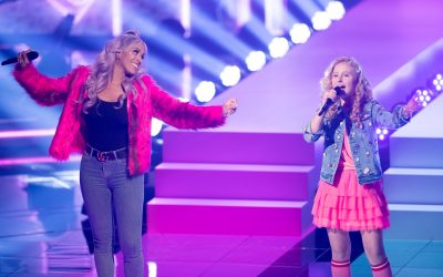 Glennis Grace nodigt The Voice Kids finaliste Sezina Steur uit voor Whitney Tribute in Ahoy.